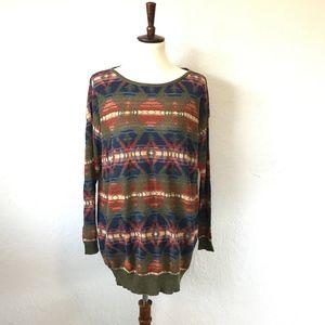 Denim & Supply Ralph Lauren Aztec Western Sweater